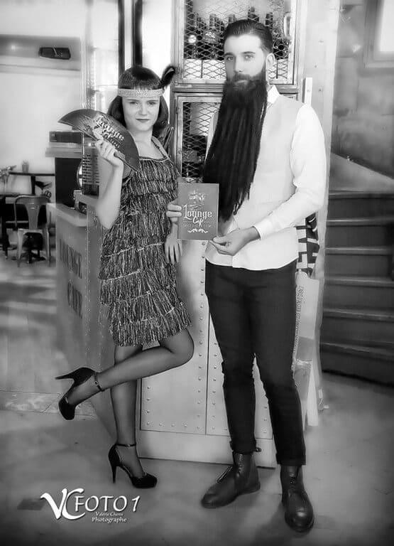 FOTO 1  - couple noir et blanc