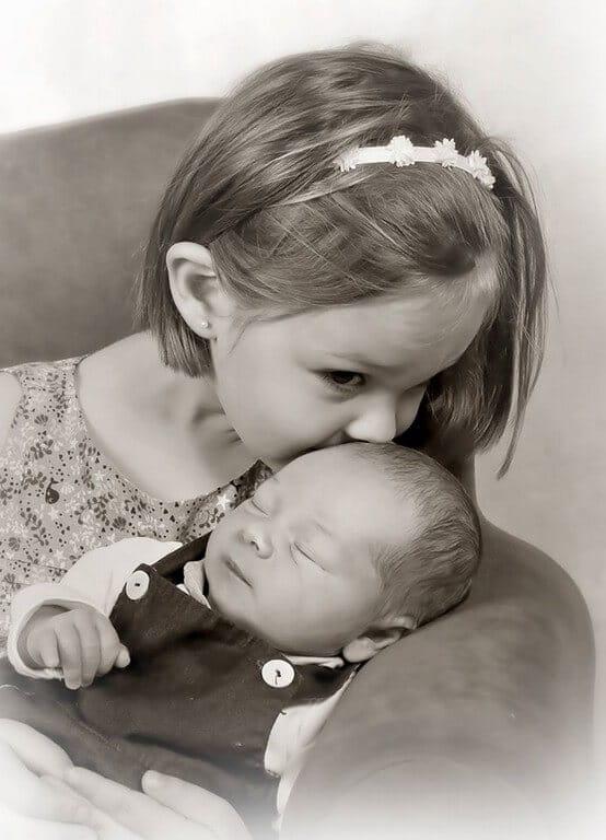 FOTO 1  - portrait fille bebe